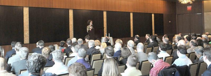 DSE931 Monica Sussman speaks at the Boston Roadshow