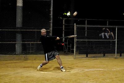 Softball Against Ikon on August 31, 2006
