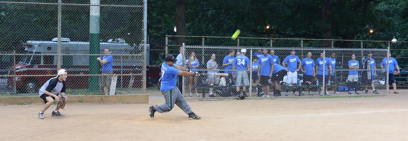Softball vs. Beacon 7-18-13