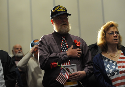 Phillipsburg area veterans Sunday, Nov. 11, 2018  were honored during the 21st annual William L. Nixon tribute. Hundreds attended the event at Phillipsburg High School in Lopatcong Township, in which the U.S. Department of Veterans Affairs has honored as a regional site for the observance of the commemoration.