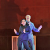 Soprano Kathleen Kim is Madame Mao and tenor Chad Shelton is Mao Tse-Tung in San Diego Opera's NIXON IN CHINA. March, 2015. Photo by Ken Howard.