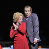 Soprano Maria Kanyova is Pat Nixon and baritone Franco Pomponi is Richard Nixon in San Diego Opera's NIXON IN CHINA. March, 2015. Photo by Ken Howard.
