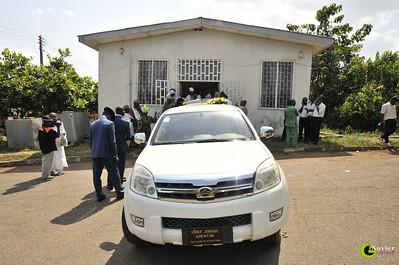 Niyi Adewumi's father's burial