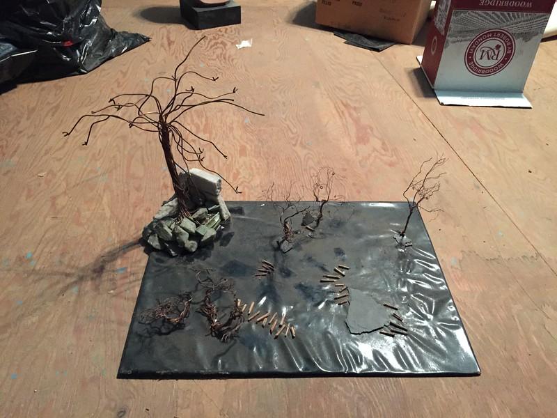 Diorama done by Naomi Rothschild