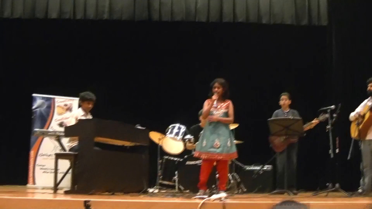 Nidhi with Ajith, Ayush, Varun and Nate