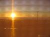 Sunset through a screen