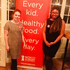 No Kid Hungry's Patti Wilder of Cambridge and Sana Barclay of Boston
