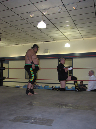 "Semifinal Match, NLP Tag Team Championship Tournament Kongo & ""Loverboy"" Buddy Romano vs. Pride (Dan Freitas & Brian Nunes)"