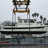 At the Redondo Beach hoist for a lower gear oil change