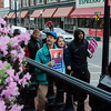 Protestors in Fitchburg joined international protests, marching against immigration policies to mark May Day, or International Workers Day, on Monday, May 1, 2017.SENTINEL & ENTERPRISE / Ashley Green