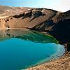 Viti crater, Krafla Volcano, Myvatn region