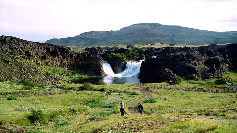 Hjálparfoss, Þjórsadalur Valley