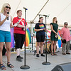 The first North Worcester Country (NoWoCo) Pride Festival was held on Saturday, July 20, 2019 at Riverfront Park in Fitchburg. Local and state officals address the crowd during the event. SENTINEL & ENTERPRISE/JOHN LOVE