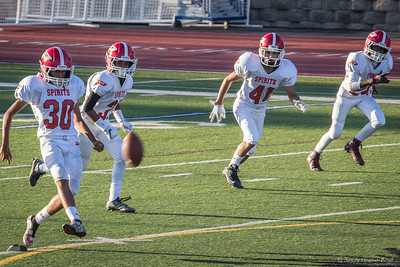 Paraclete player kicks off