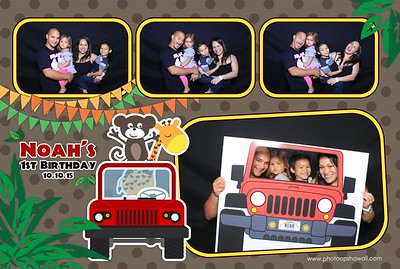 Noah's 1st Birthday (Fusion Photo Booth)