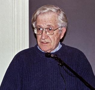 03.12.10 Noam Chomsky at Harvard University in Cambridge, MA