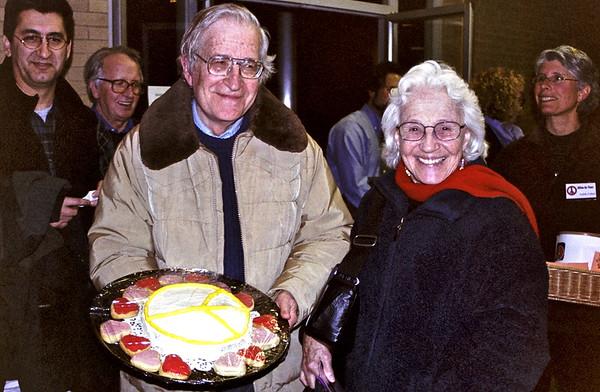 04.02.08 Noam Chomsky at Milton for Peace, MA