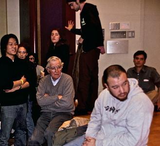 04.12.07 Noam Chomsky at Brown University in Providence, RI