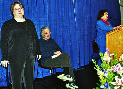 06.01.25 Noam Chomsky at UNE-Biddeford
