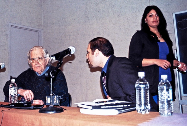 08.04.03 Noam Chomsky and Omar Baddar