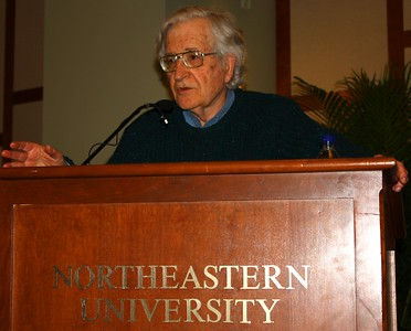 09.04.09 Noam Chomsky at Northeastern University