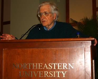 09.04.09 Noam Chomsky at Northeastern University