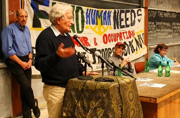 09.09.29 Noam Chomsky - Marilyn Levin - Steve Meacham at MIT