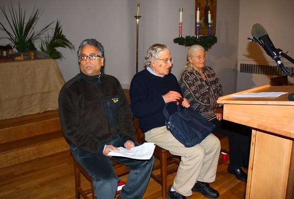 09.12.06 Noam Chomsky & Nancy Murray in Watertown, MA