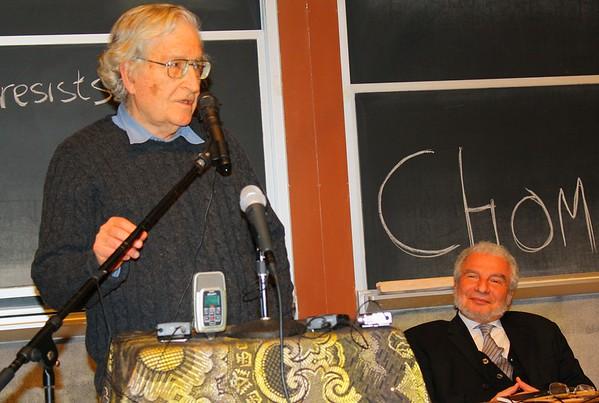 09.12.15 Noam Chomsky & Rodolfo Pastor at MIT