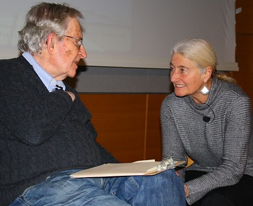 11.01.21 Noam Chomsky & Nancy Murray at MIT