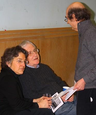 11.02.10 Noam Chomsky & Phyllis Bennis in Arlington, MA