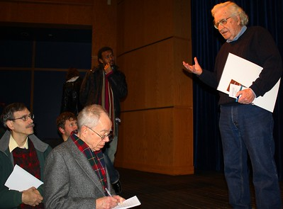 11.12.11 Noam Chomsky at the University of New England in Westbrook, Maine