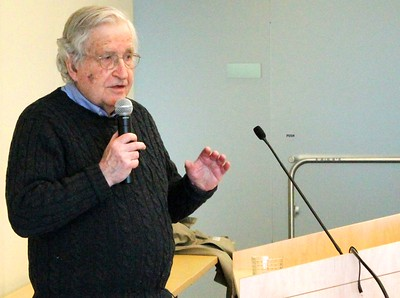 13.03.28 Noam Chomsky speaking on Language and the Limits of Understanding - The machine, the ghost, and the limits of understanding: Newton's contributions to the study of mind in Cambridge, MA