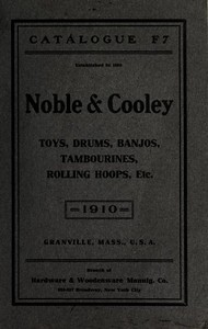 1910 Noble & Cooley Catalogue F7