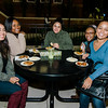 Students enjoy local food during 'Noche Caliente' at Fitchburg State on Wednesday evening. The night was to promote local Fitchburg restaurants and brings campus clubs and organizations together. SENTINEL & ENTERPRISE / Ashley Green