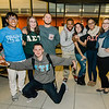 Students hang out during 'Noche Caliente' at Fitchburg State on Wednesday evening. The night was to promote local Fitchburg restaurants and brings campus clubs and organizations together. SENTINEL & ENTERPRISE / Ashley Green