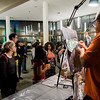 Students wait in line for airbrushed art during 'Noche Caliente' at Fitchburg State on Wednesday evening. The night was to promote local Fitchburg restaurants and brings campus clubs and organizations together. SENTINEL & ENTERPRISE / Ashley Green
