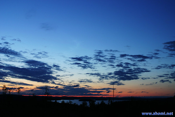 Noctilucent clouds . 13-14th July 2005 .