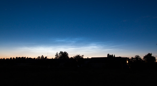 Noctilucent Clouds, July 11th