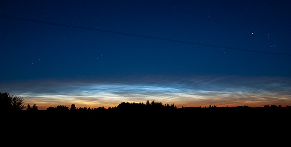 Noctilucent Clouds, July 17th