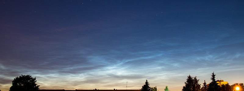 Noctilucent clouds, 2016-07-06