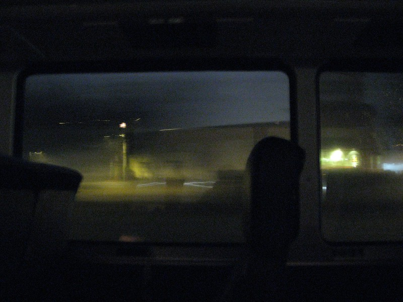 From the bus (after Hopper)