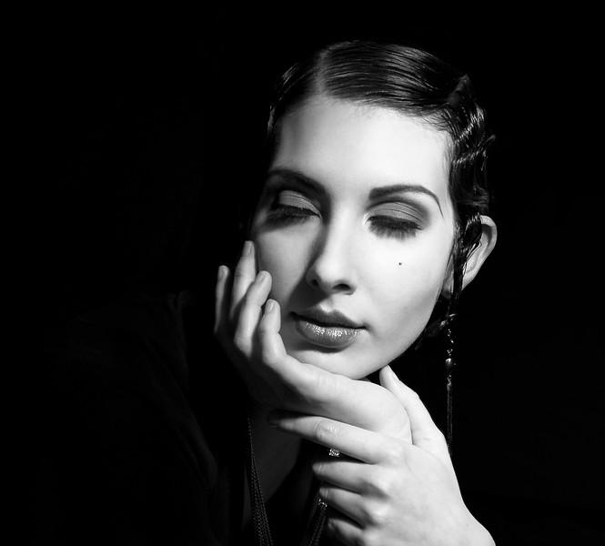 Model: Adrienne Hertler<br /> Makeup & Hair: JoAnn Orr