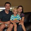 Family photo on Nolan's birthday
