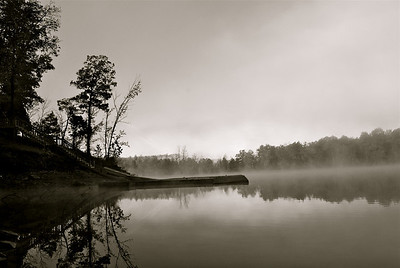 Boat dock @ Nolin River Lake, Dog Creek