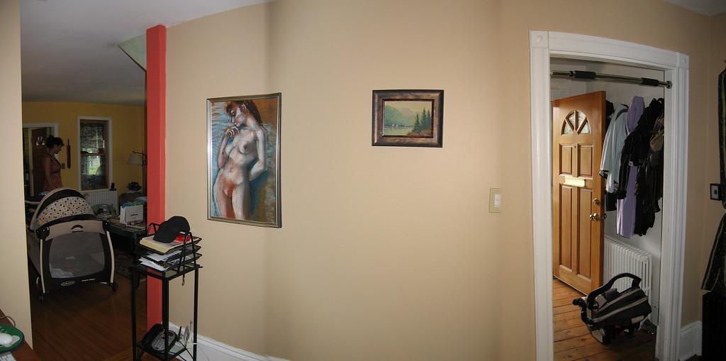 12 Tan Room Interior Wall Pan