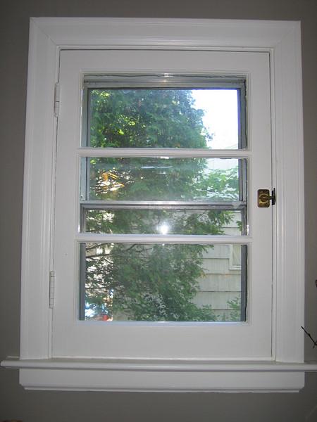 17 Hearth Window Detail