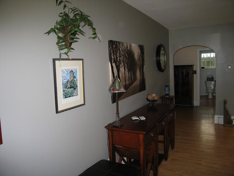 14 South Wall with Bathroom Door Open
