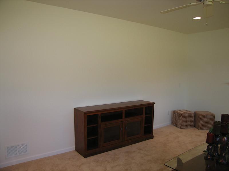 09 Living Room Wall Minus TV