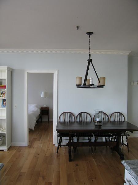 14 Dining Wall with Door to Bedroom